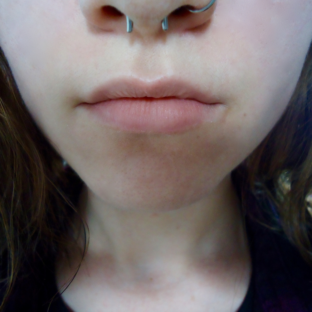 14g  Polish Titanium Septum Retainer -- Photo # 69429