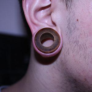 """Bamboo eyelets 1-1/16""""  (pair) -- Photo # 15507"""
