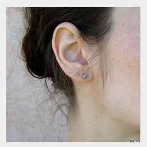 "14g  Single flare (7/16"" wearable) -- Photo # 29879"
