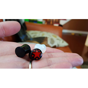00g/10mm  3 pair -- Photo # 73938