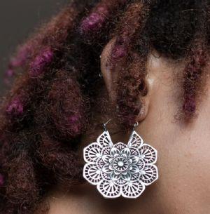 20g Floral Mandala Earrings