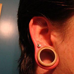 """Bamboo eyelets 1""""  (pair) -- Photo # 22810"""