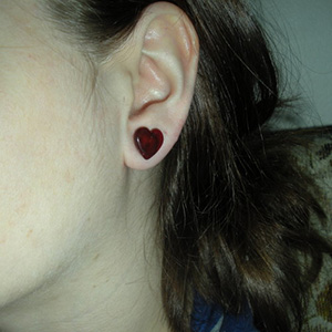 0g  Red (pair) -- Photo # 40095