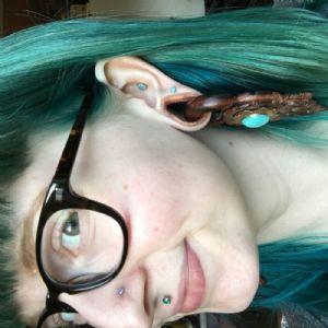 """7/8"""" Silicone Hydra Teardrop Eyelet"""