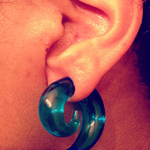 0g  Ocean blue (pair) -- Photo # 52473