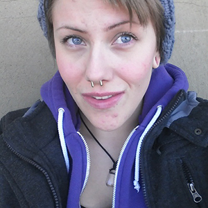 10g  Polish Titanium Septum Retainer -- Photo # 50974