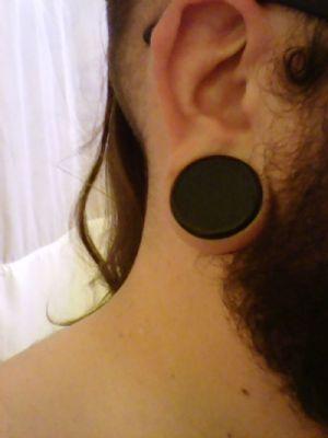 "1-1/8""  Black 28mm (pair) -- Photo # 80370"