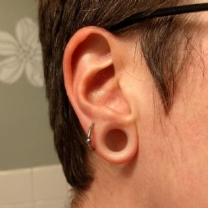 """1/2""""  Clear (1/4"""" wearable) -- Photo # 80600"""