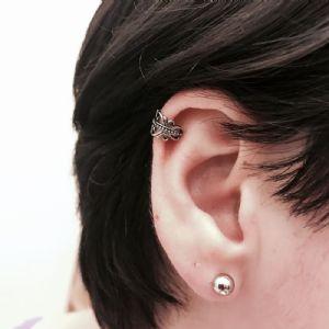 Ornate Swirl Ear Cuff -- Photo # 81877