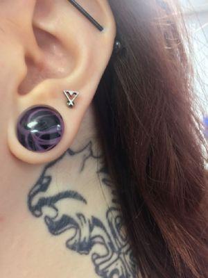 """9/16""""  Purple (pair) -- Photo # 80199"""