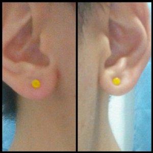 14g  Yellow (pair) -- Photo # 75036