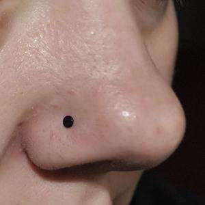 Bioplast nosebone 18g  Black -- Photo # 41952