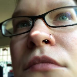 "Nose Hoop 20g 5/16""  -- Photo # 76893"