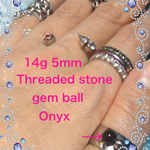 14g  5mm Onyx -- Photo # 67074
