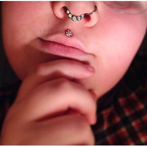 "Nose Hoop 18g 5/16""  -- Photo # 67798"