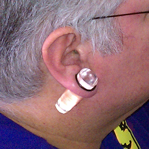 "Acrylic taper 3/4""  (clear) -- Photo # 24174"