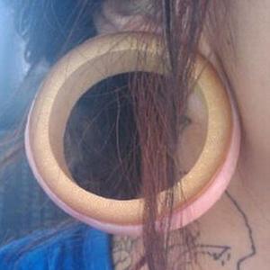 "Bamboo eyelet 2-1/2""  (pair)"