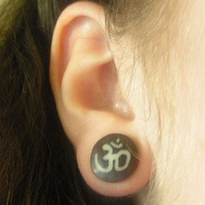 "Wood Ohm plugs 1/2""  (pair) -- Photo # 1750"