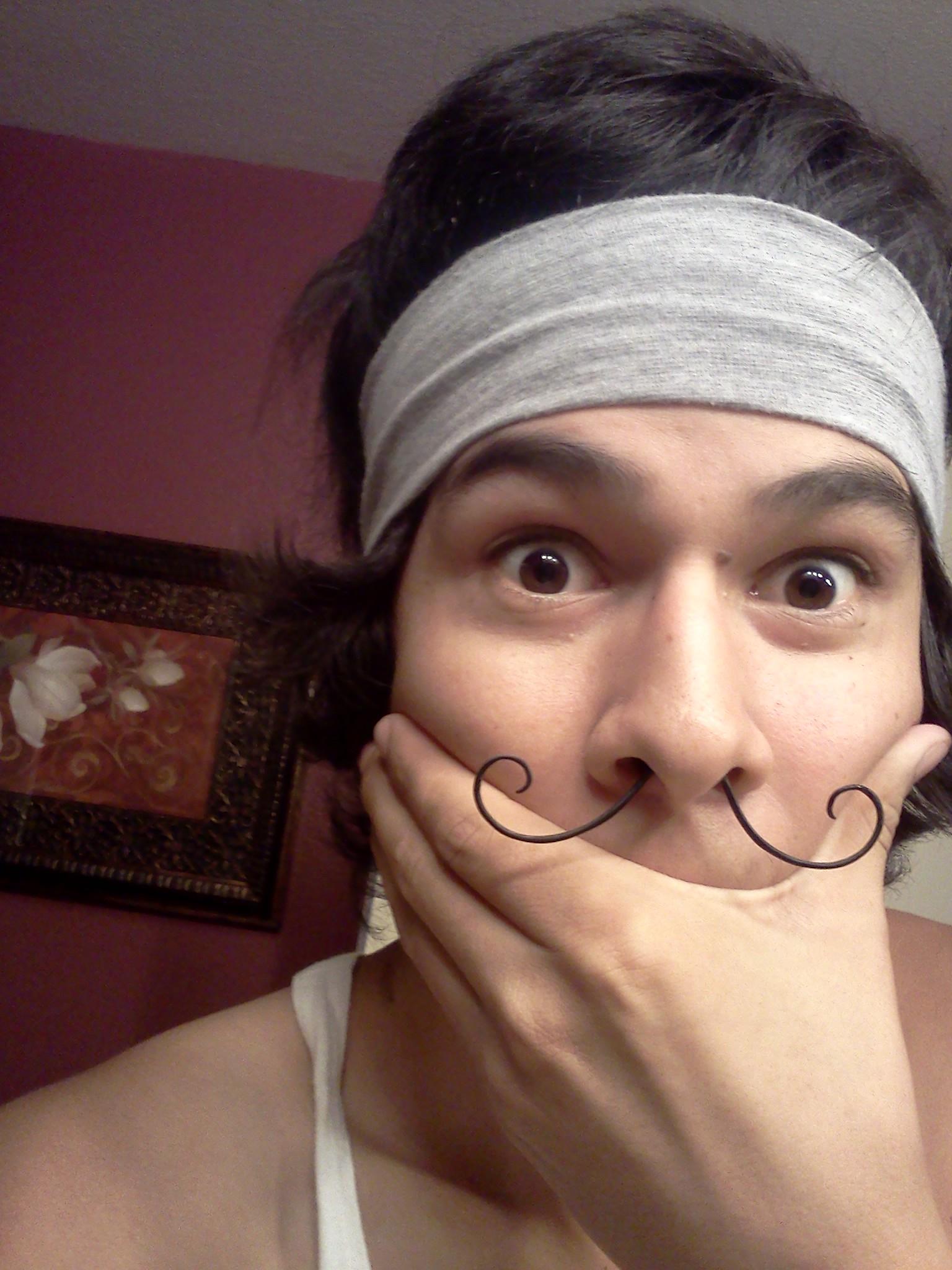 Mustache Septum Ring 14g Ring S Art