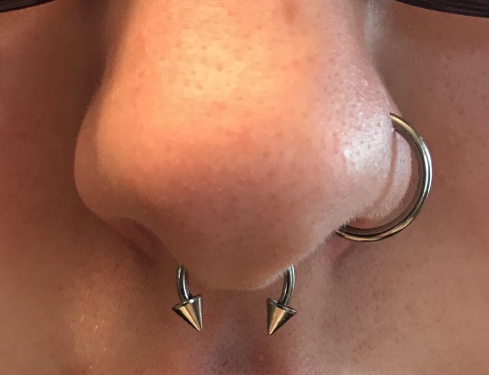 16g Titanium Open Nose Hoop