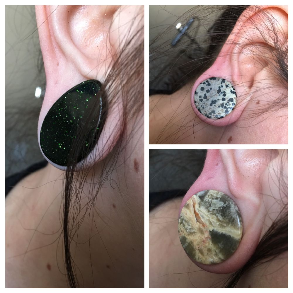 "1"" Clearance Blemished Organic Plugs Grab Bag"
