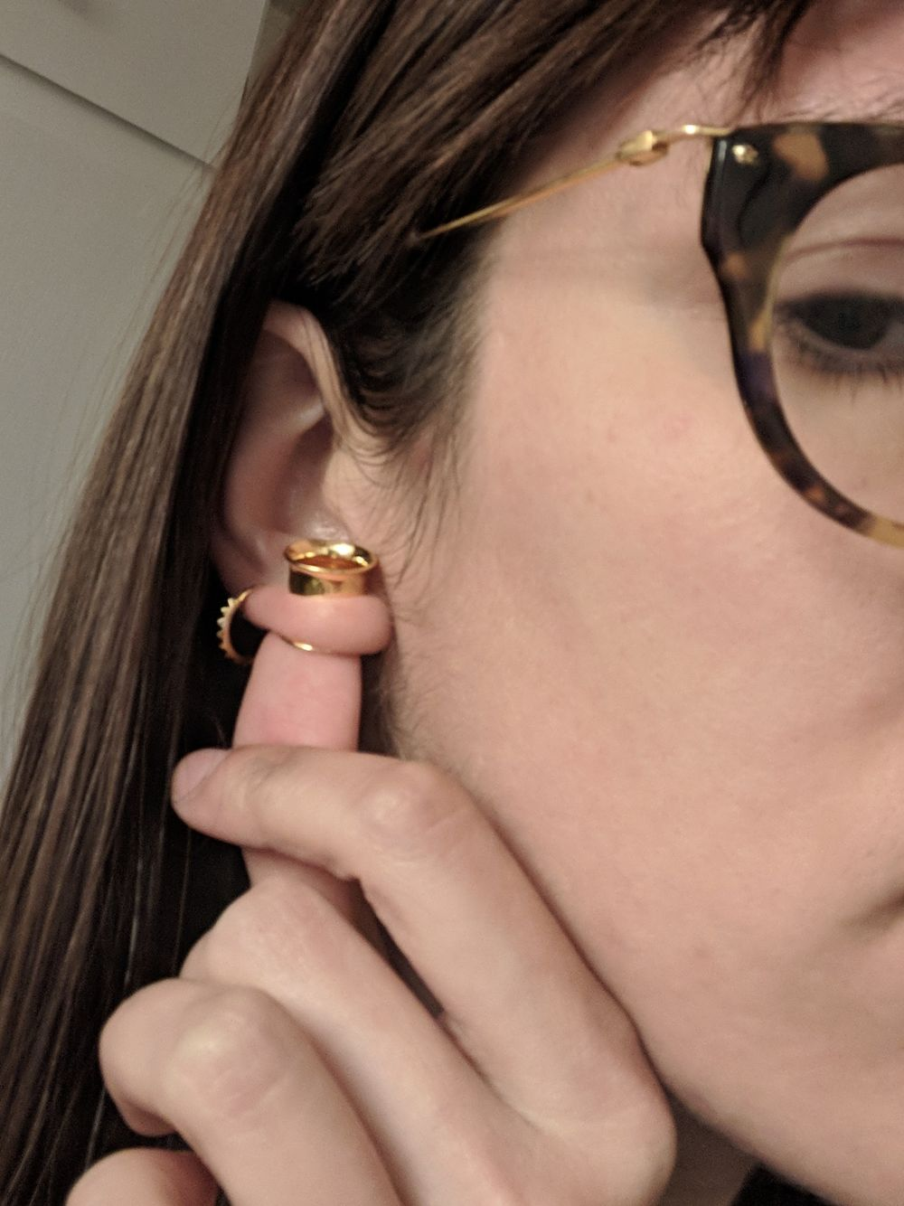 "1/2"" Gold Plated Double Flare Eyelet"