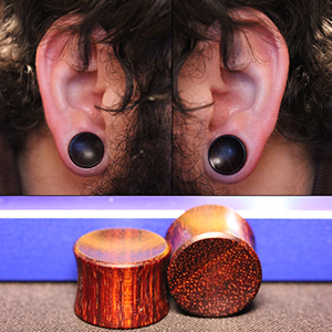 "9/16""  Bloodwood (pair) -- Photo # 67365"