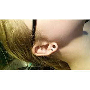 "00g  Clear (1/4"" wearable) -- Photo # 62825"