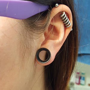 "1/2""  Black (3/8"" wearable) -- Photo # 72196"