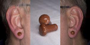 4g  Goldstone (pair) -- Photo # 83341