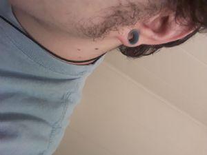 "00g/9mm  Slate blue (5/16"" wearable) -- Photo # 83814"