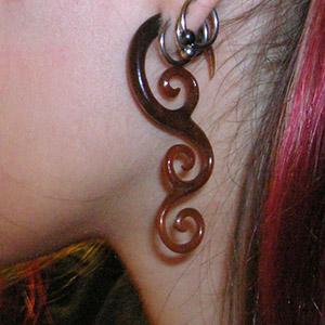 4g  Golden Horn (pair) -- Photo # 5725