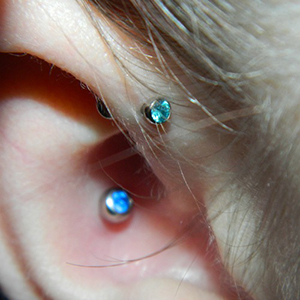 16g  2.5mm Mint green CZ -- Photo # 51227