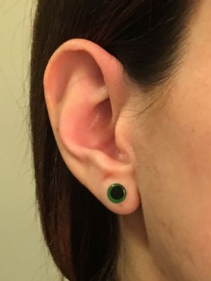 5g  Emerald (pair) -- Photo # 79093