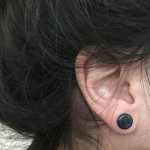 0g  Indigo sparkle (pair) -- Photo # 81274