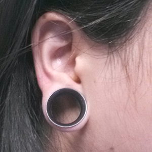 "3/4""  Black (5/16"" wearable) -- Photo # 61077"
