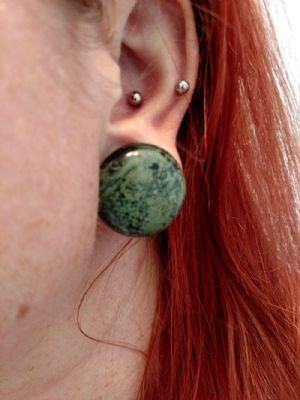 """7/8""""  Green eye jasper -- Photo # 80976"""
