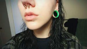 "1""  UV Green (5/16"" wearable) -- Photo # 81980"