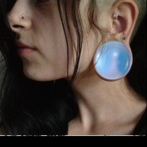 """1-3/4""""  Opalite (pair) -- Photo # 44151"""