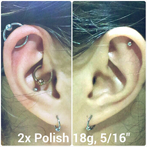 "18g 5/16"" Polish -- Photo # 61539"