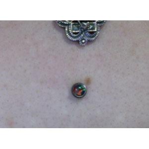 14g/12g  5mm Black opal -- Photo # 63362