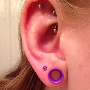16g  2.5 mm - Purple opal -- Photo # 69899