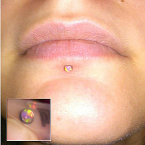 16g  3mm - Orange opal -- Photo # 58104