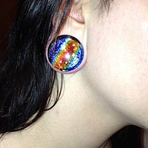 "1-1/8""  Rainbow (pair) -- Photo # 50236"