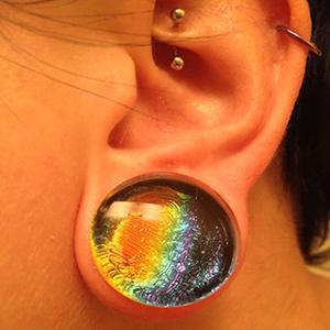 "7/8""  Rainbow (pair) -- Photo # 51596"